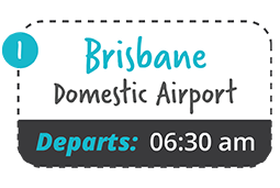 brisbane domestic to yamba one way fare