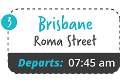 brisbane roma street to yamba one way fare