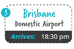 yamba to brisbane domestic one way fare