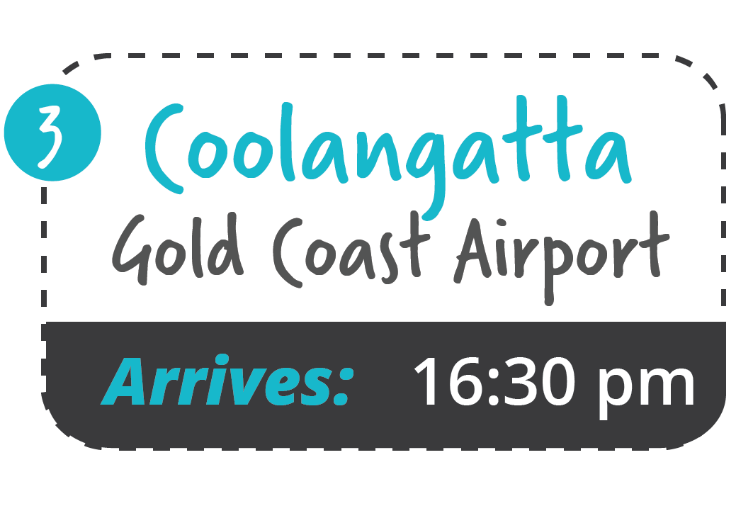 yamba to gold coast airport